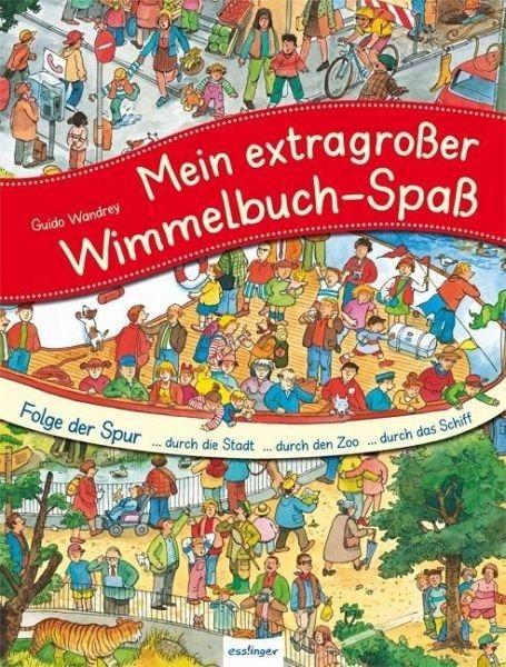 Gebundenes Buch »Mein extragroßer Wimmelbuch-Spaß - Folge der Spur«