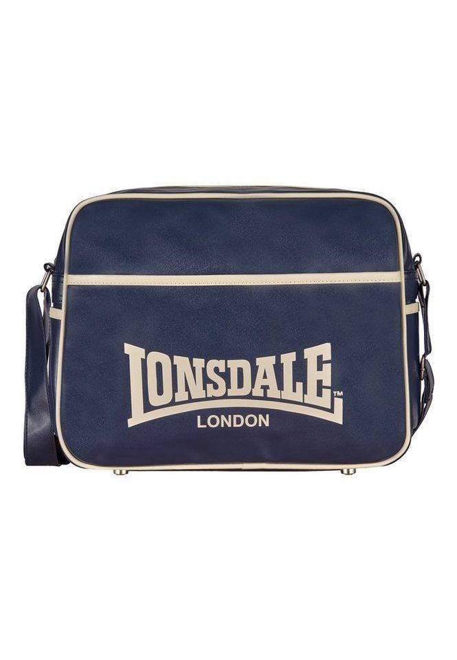 Lonsdale Tasche »PETE« in Navy/Sand