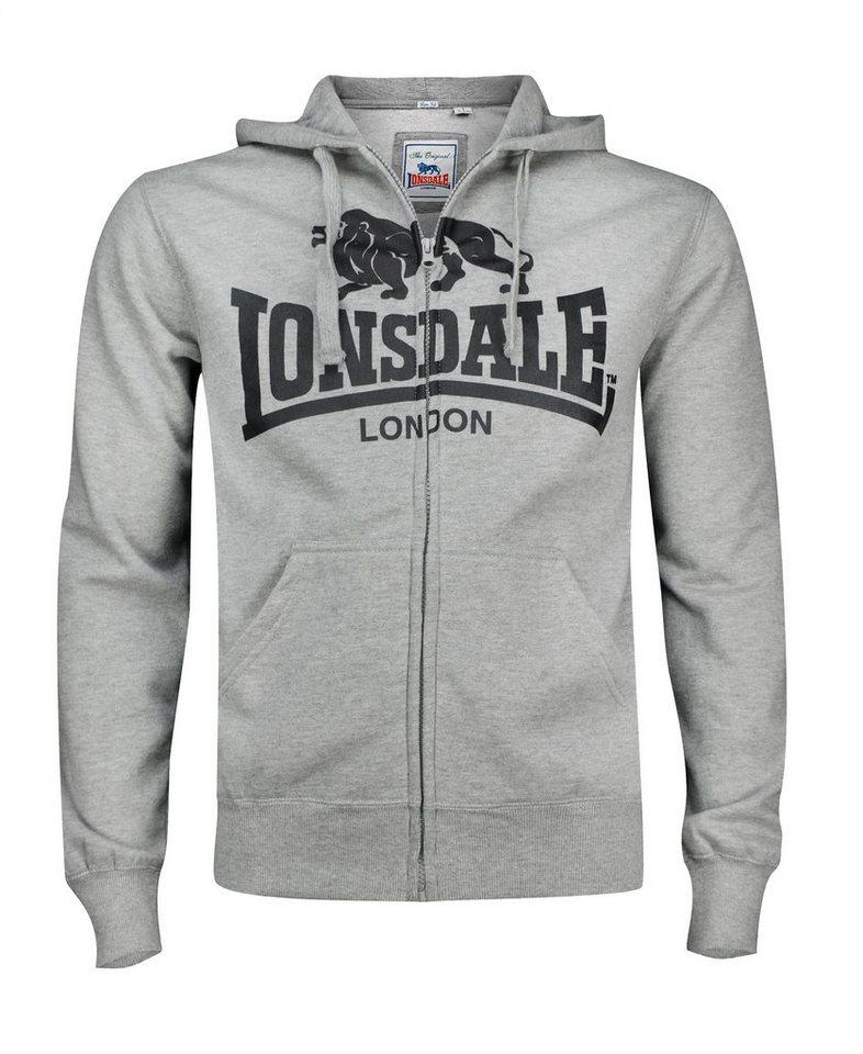 Lonsdale Sweatjacke »KRAFTY« in Marl Grey