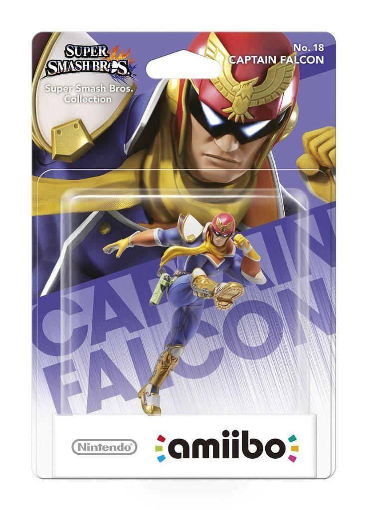 Nintendo Wii U - Spiel »amiibo Smash Cap Falcon«