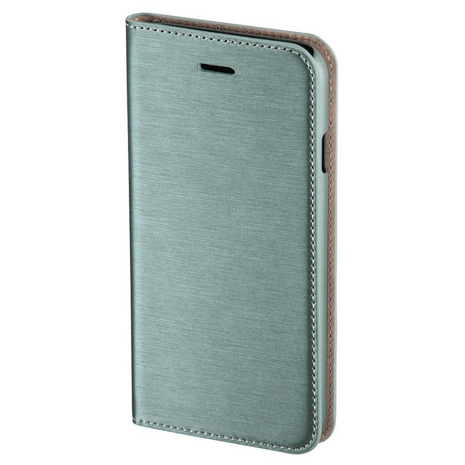 Hama Booklet Slim für Apple iPhone 6, Khaki in Grün