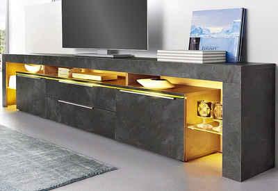 lowboard wandmontage. Black Bedroom Furniture Sets. Home Design Ideas