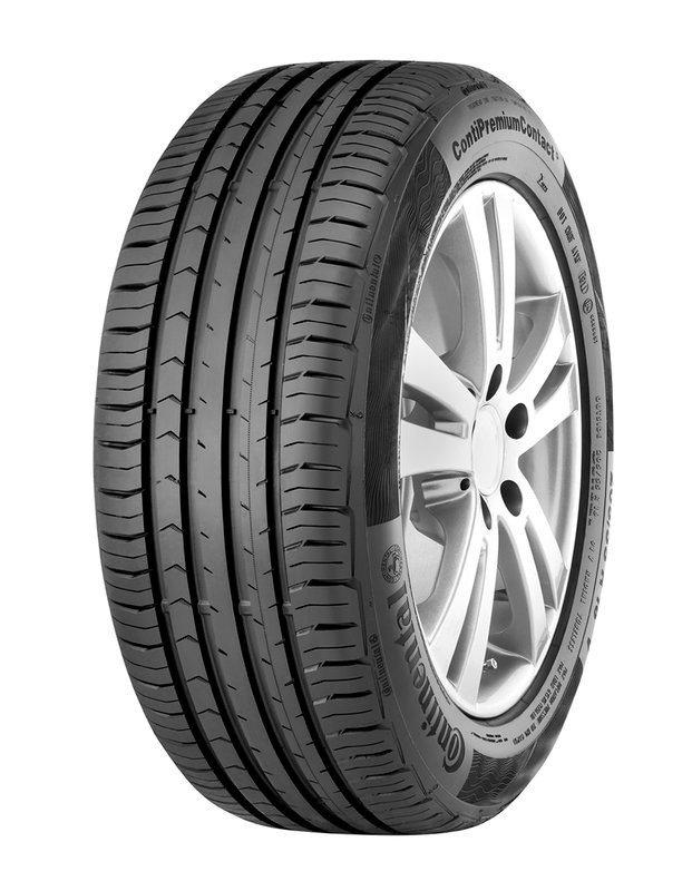 Continental Sommerreifen »Continental PremiumContact 5, 185mm« in schwarz