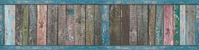 A.S. Création Bordüre »Only Borders«, strukturiert, Holz, in Vintage Holzoptik