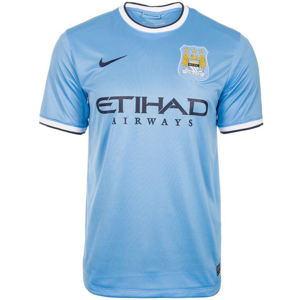 NIKE Manchester City FC Trikot Home 2013/2014 Herren in blau