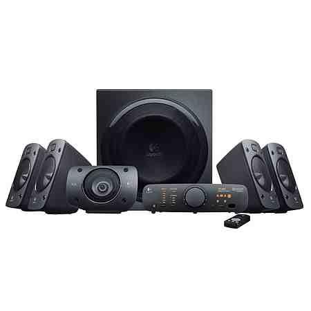Logitech Lautsprecher »Z906 5.1 Surround Sound Speakers- 980-000468«
