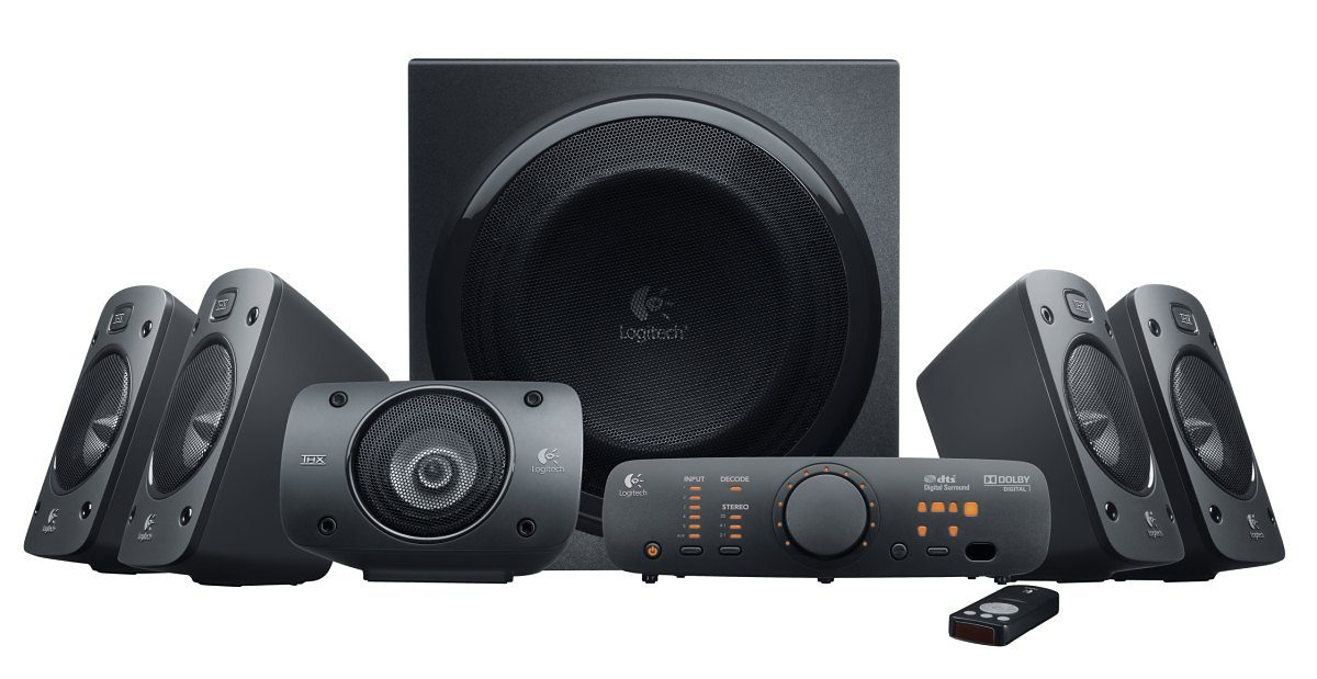 Logitech Lautsprecher »Z906 5.1 Surround Sound Speakers- 980-000468«
