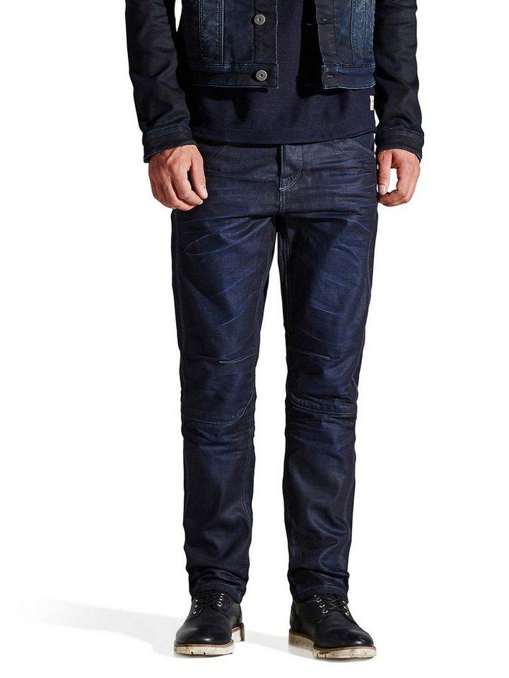 Jack & Jones Stan Adam AT 872 Anti-fit Jeans in Medium Blue Denim