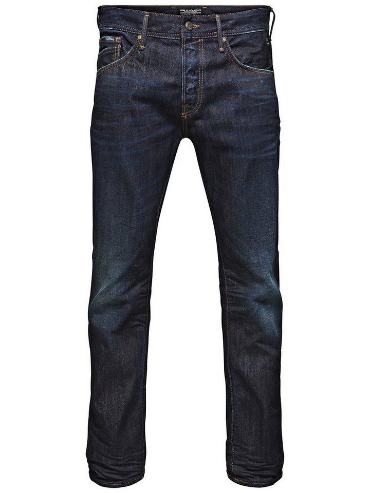Jack & Jones Mike Drew BL 342 Comfort fit Jeans in Medium Blue Denim