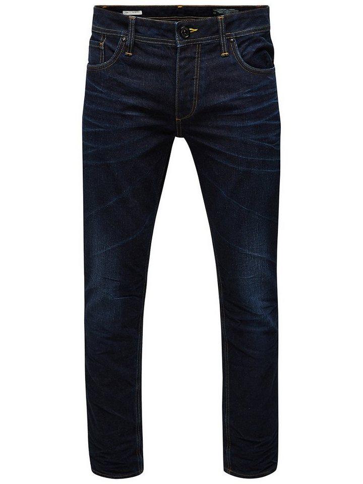 Jack & Jones Tim Original SC 550 Slim fit Jeans in Medium Blue Denim