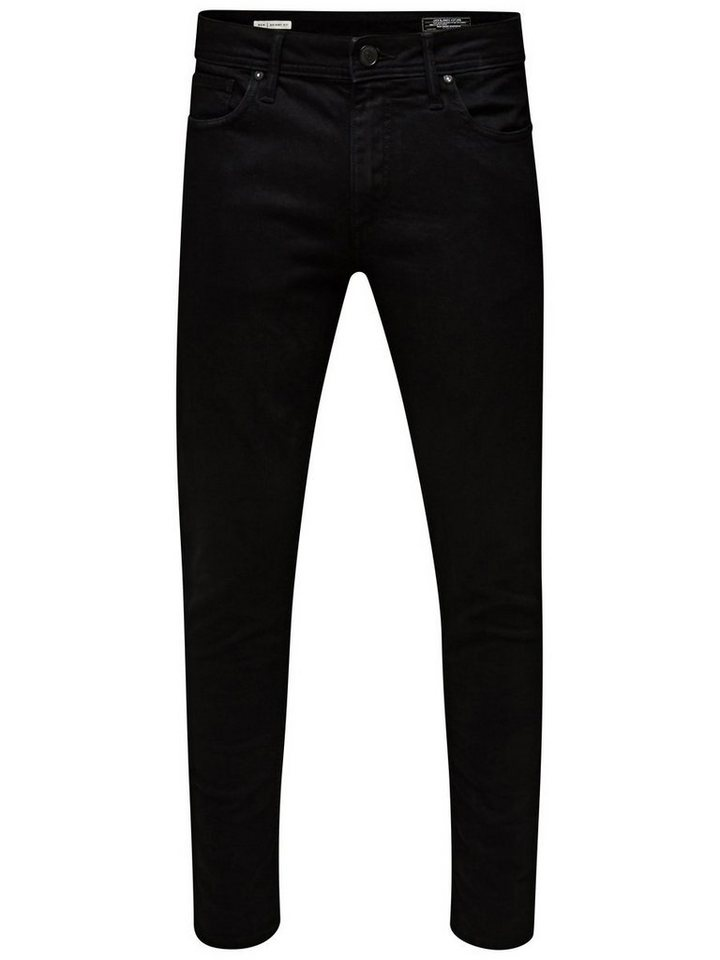 Jack & Jones Ben Original SC 616 Skinny Fit Jeans in Black Denim
