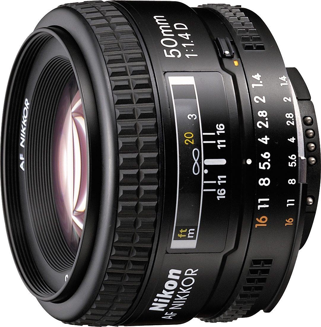 Nikon AF NIKKOR 50 mm 1:1,4 Festbrennweite Objektiv