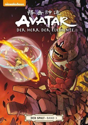 Broschiertes Buch »Der Spalt 3 / Avatar - Der Herr der Elemente...«