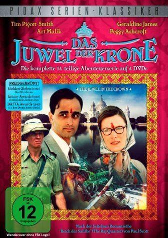 DVD »Das Juwel der Krone (4 Discs)«