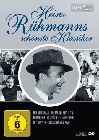 DVD »Heinz Rühmanns schönste Klassiker (4 Discs)«