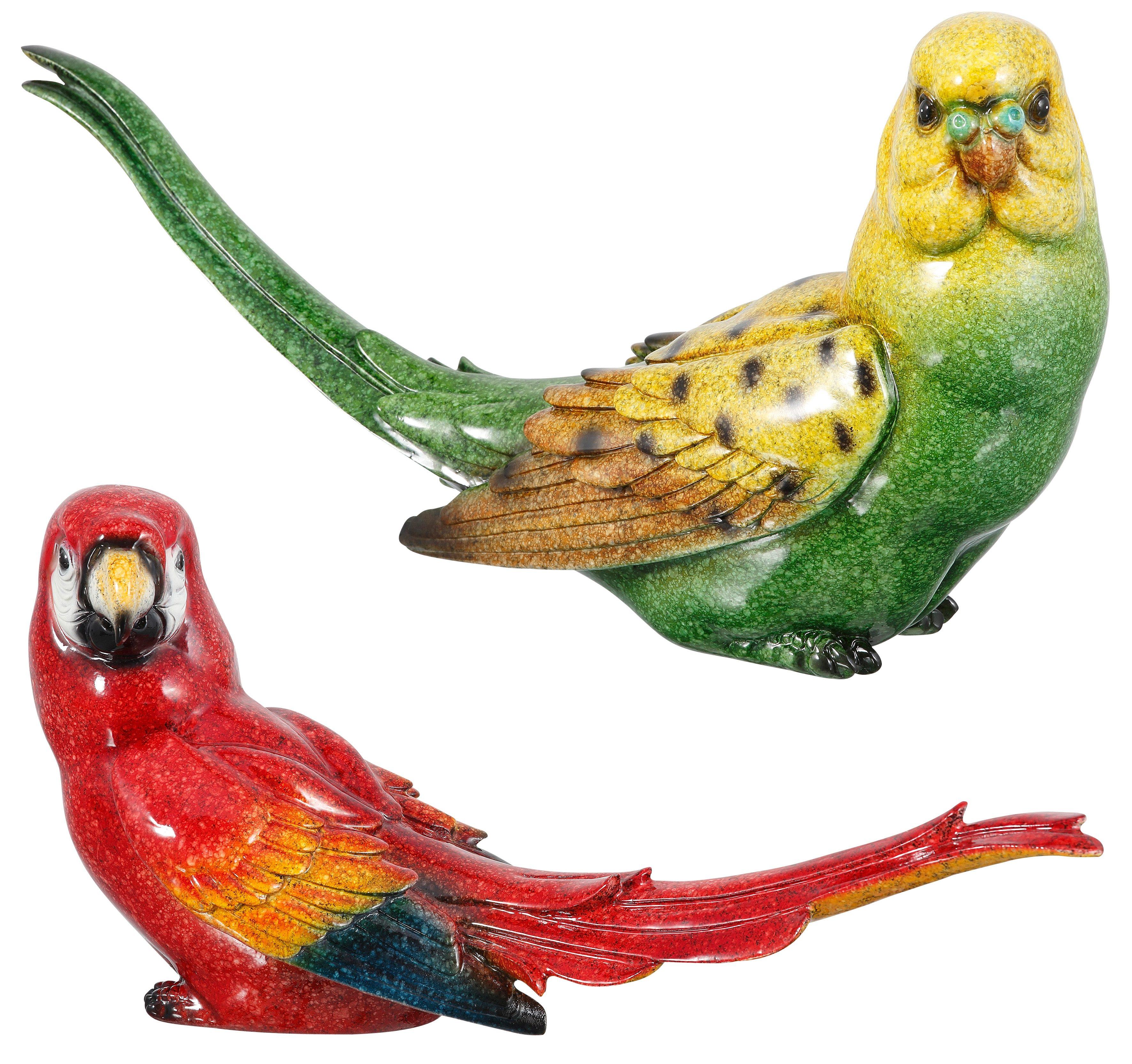 Dekofigur, Home affaire, »Papageien«, (2er Set)