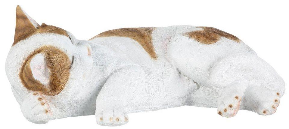 Dekofigur, Home affaire »Katze« in weiß-braun