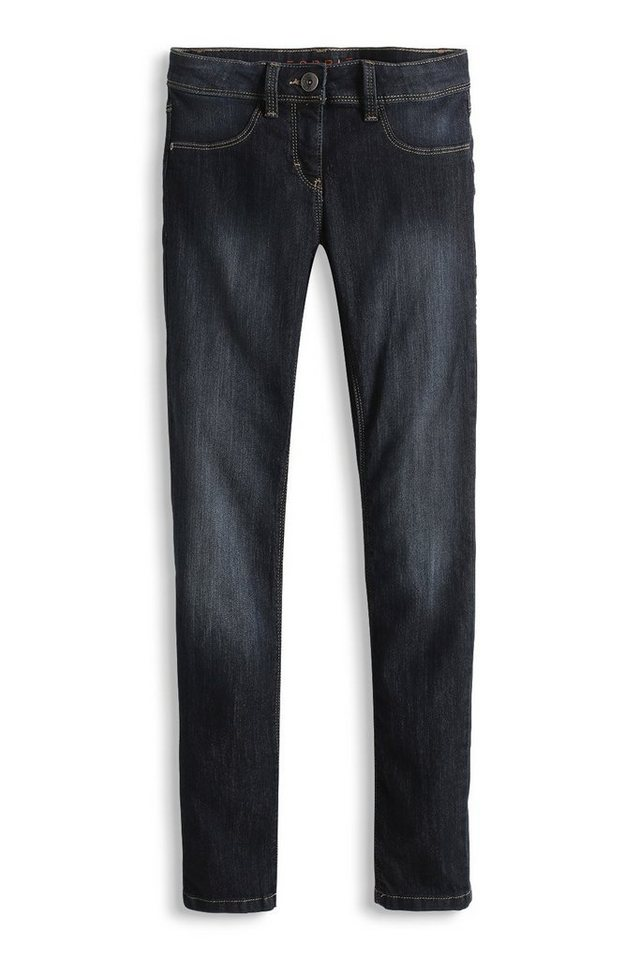 ESPRIT Stretch-Jeans mit extra dunkler Waschung in SUPERDARK DENIM