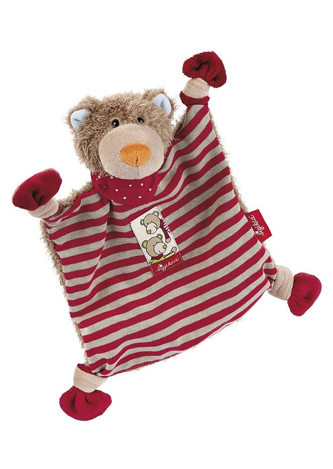 sigikid®, Schnuffeltuch, »Wild and Berry Bears«