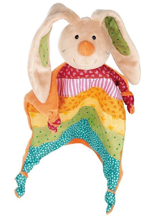 sigikid®, Schnuffeltuch, »Rainbow Rabbit«