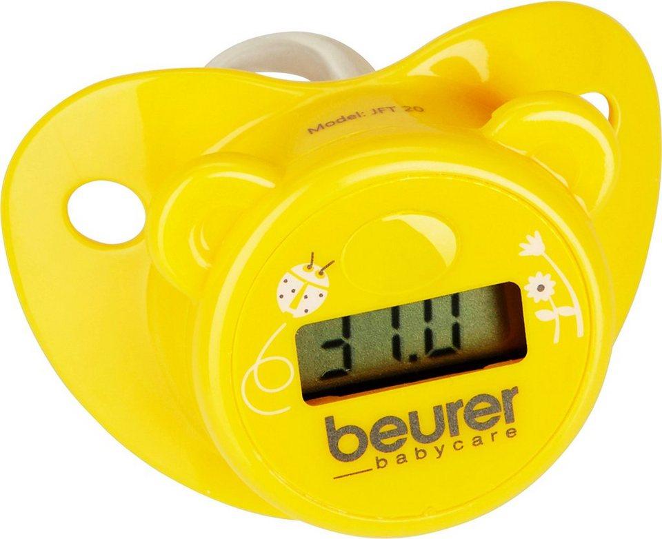 Beurer, Schnullerthermometer, BY 20 in Gelb