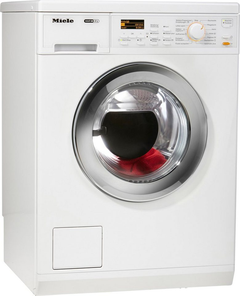 MIELE Waschtrockner WT 2796 WPM, A, 6 kg / 3 kg, 1600 U/Min in weiß