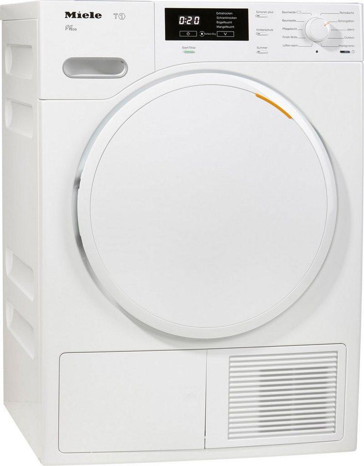 MIELE Trockner TMB 540 WP, A++, 8 kg in weiß