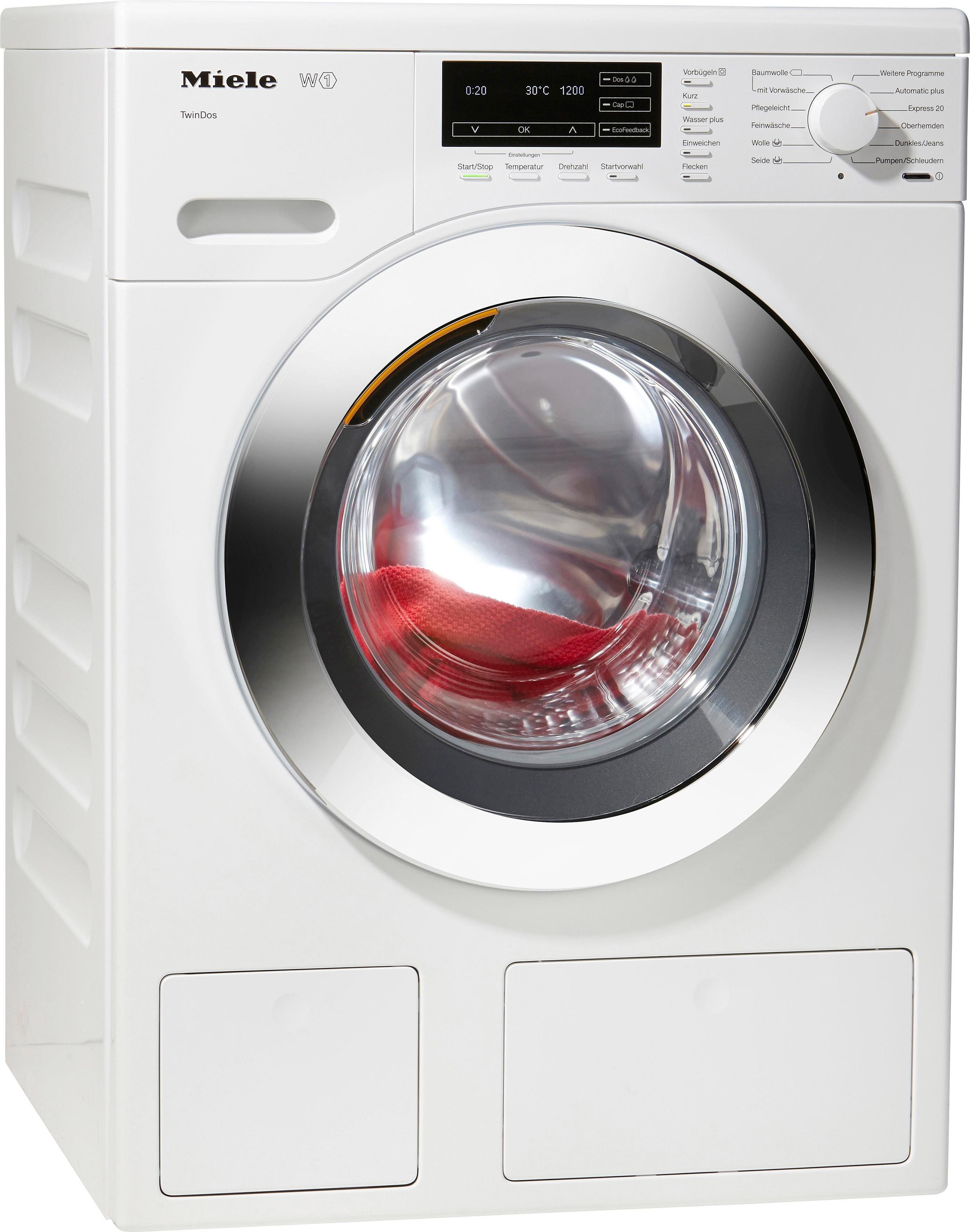 MIELE Waschmaschine WKG 120 WPS, A+++, 8 kg, 1600 U/Min