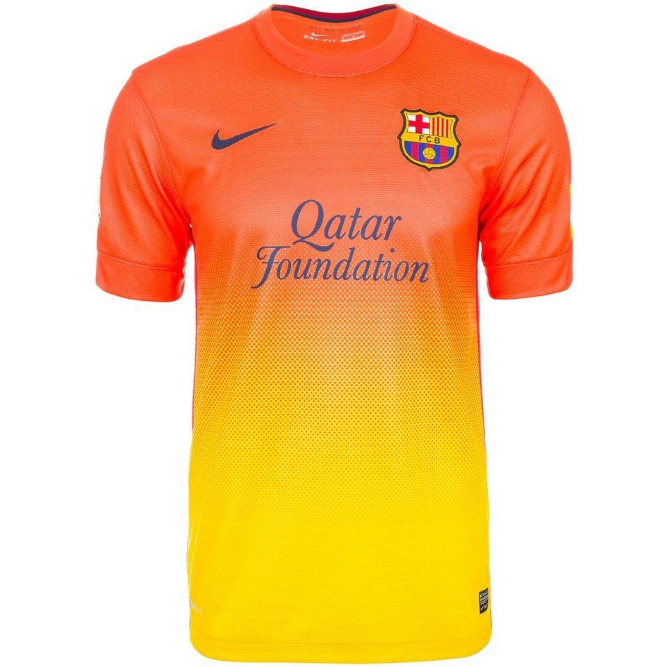 NIKE FC Barcelona Trikot Away 2012/2013 Herren in orange
