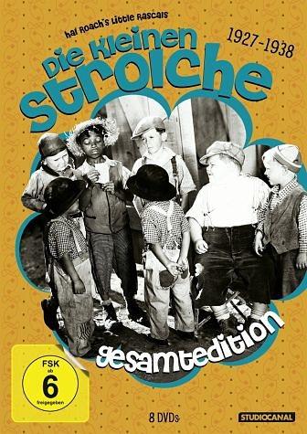 DVD »Die kleinen Strolche: 1927-1938, Gesamtedition...«