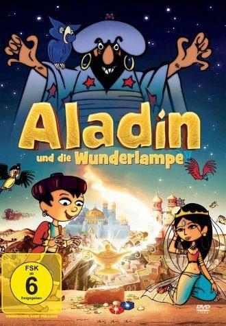DVD »Aladin und die Wunderlampe«