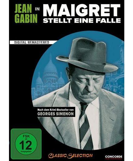 DVD »Maigret stellt eine Falle«