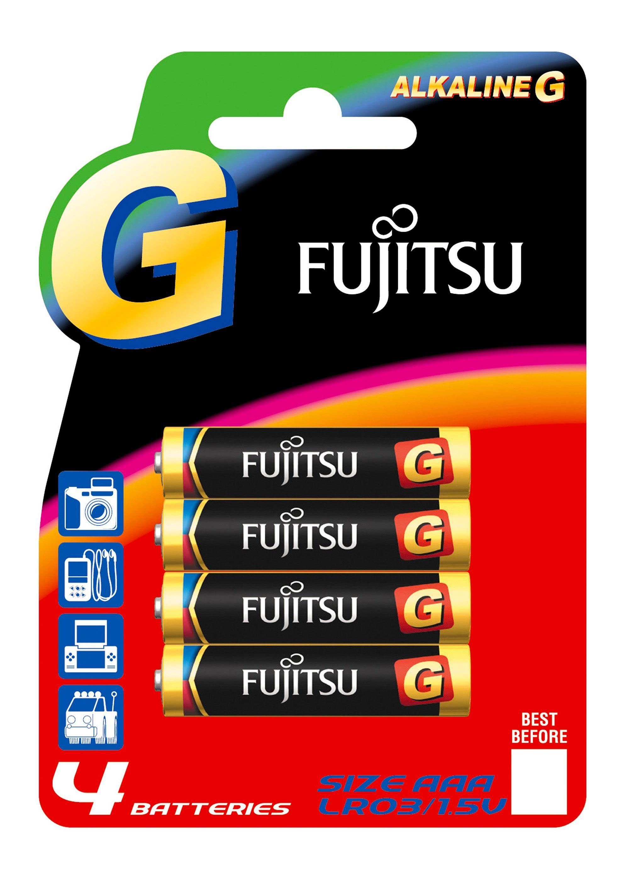 Batterien, »Micro / AAA / LR03«, FUJITSU (4 Stck.)