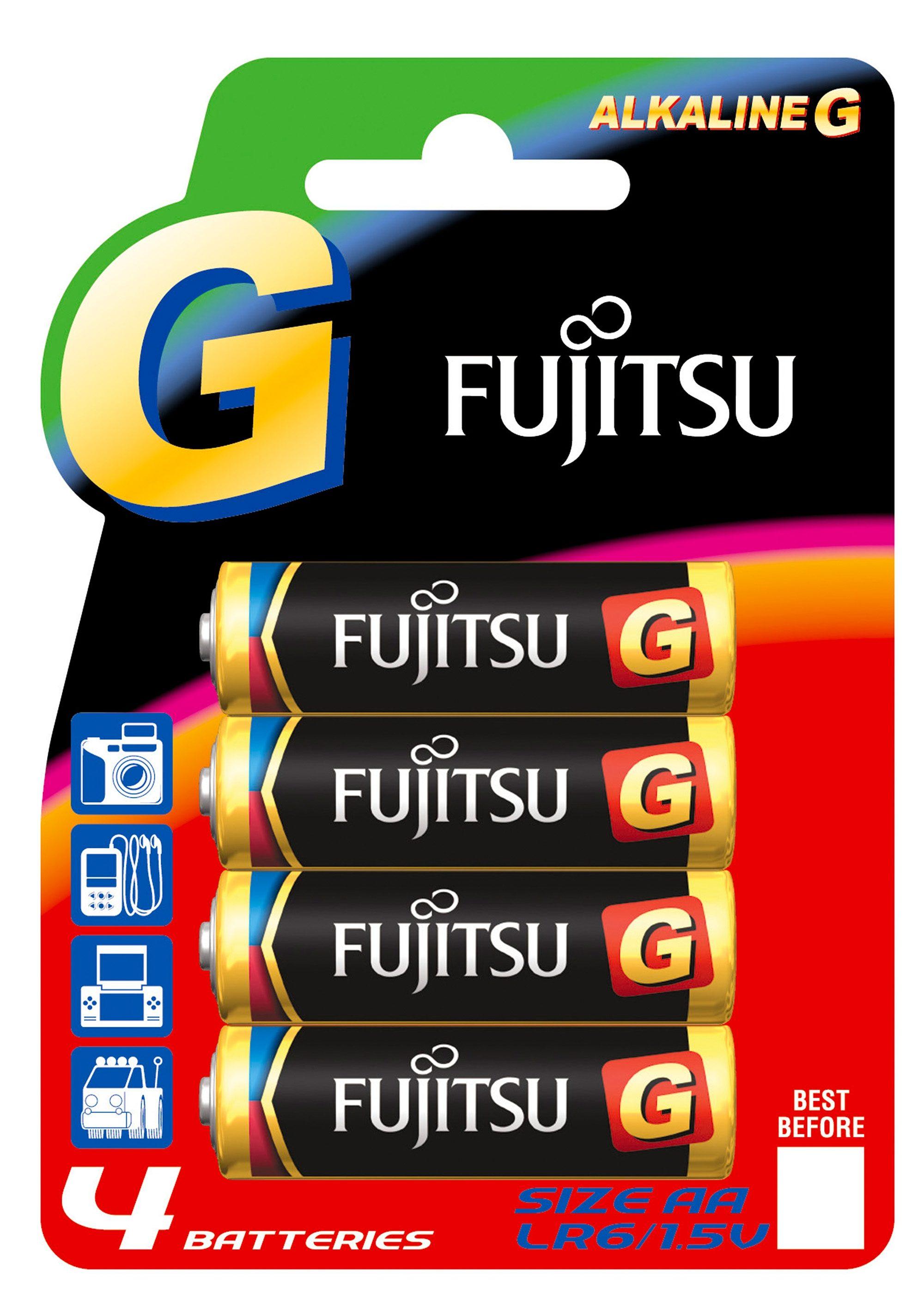 Batterien, »Mignon / AA / LR6«, FUJITSU (4 Stck.)