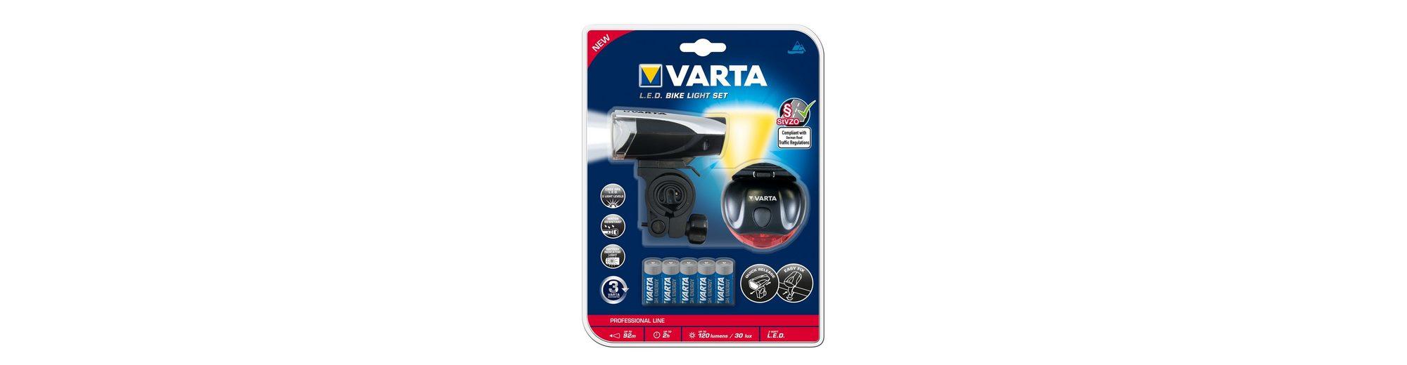 Fahrrad-Beleuchtungs-Set, »LED Bike Light«, Varta