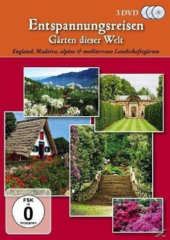 DVD »Entspannungsreisen - Gärten dieser Welt (3 Discs)«