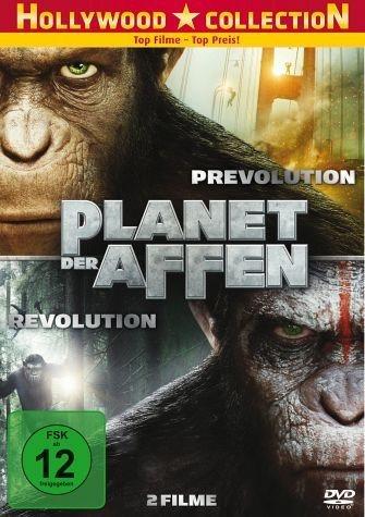 DVD »Planet der Affen: PRevolution / Planet der...«