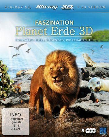 Blu-ray »Faszination Planet Erde 3D - Entdeckungsreise...«