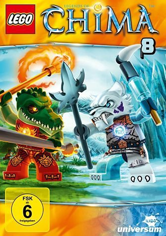 DVD »Lego: Legends of Chima - DVD 8«