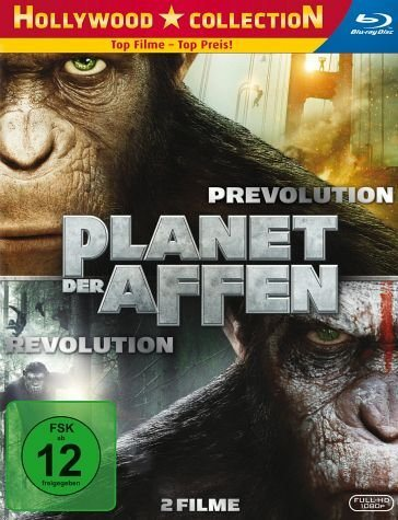Blu-ray »Planet der Affen: PRevolution / Planet der...«