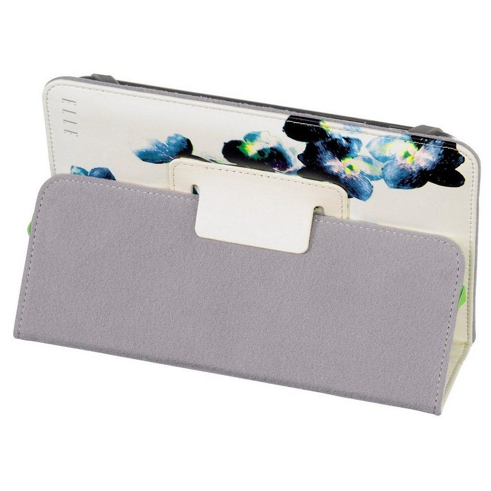 ELLE Portfolio Spring Feeling mit Standfunktion für Tablets bis