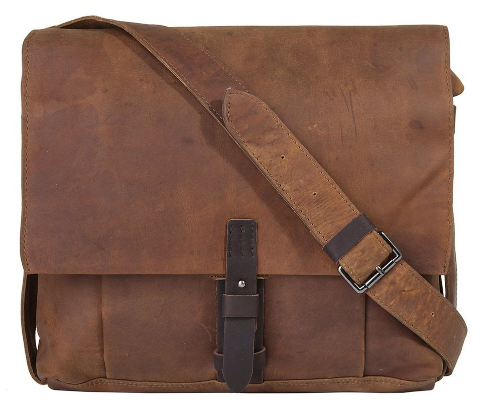Harold's Leder Messengerbag »Leado« in braun