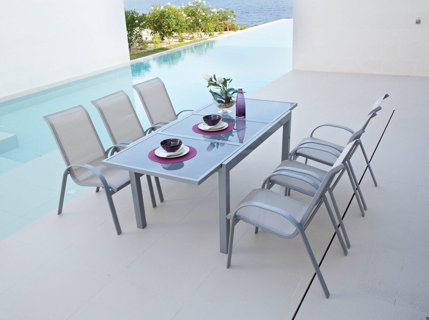 ausziehtisch glas preisvergleiche erfahrungsberichte und kauf bei nextag. Black Bedroom Furniture Sets. Home Design Ideas