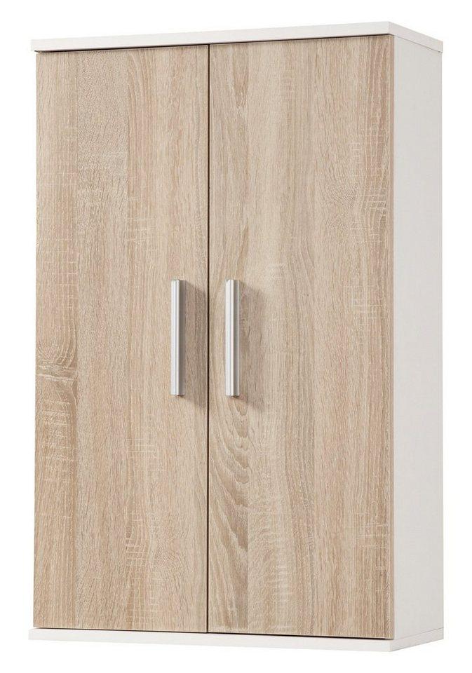 Hängeschrank »Monaco«, Breite 50 cm in eichefarben/weiß