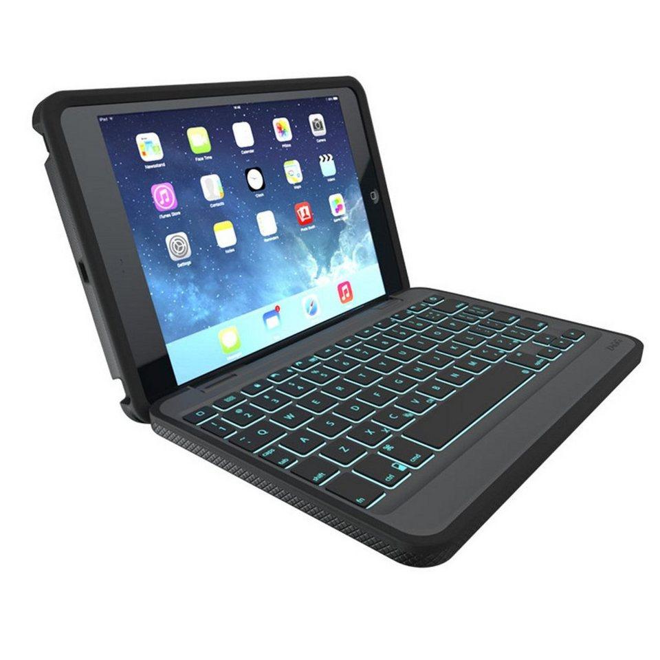 ZAGG Tablettasche »Outdoor Folio Keyboard Case für iPad Mini/Mini 2« in Schwarz