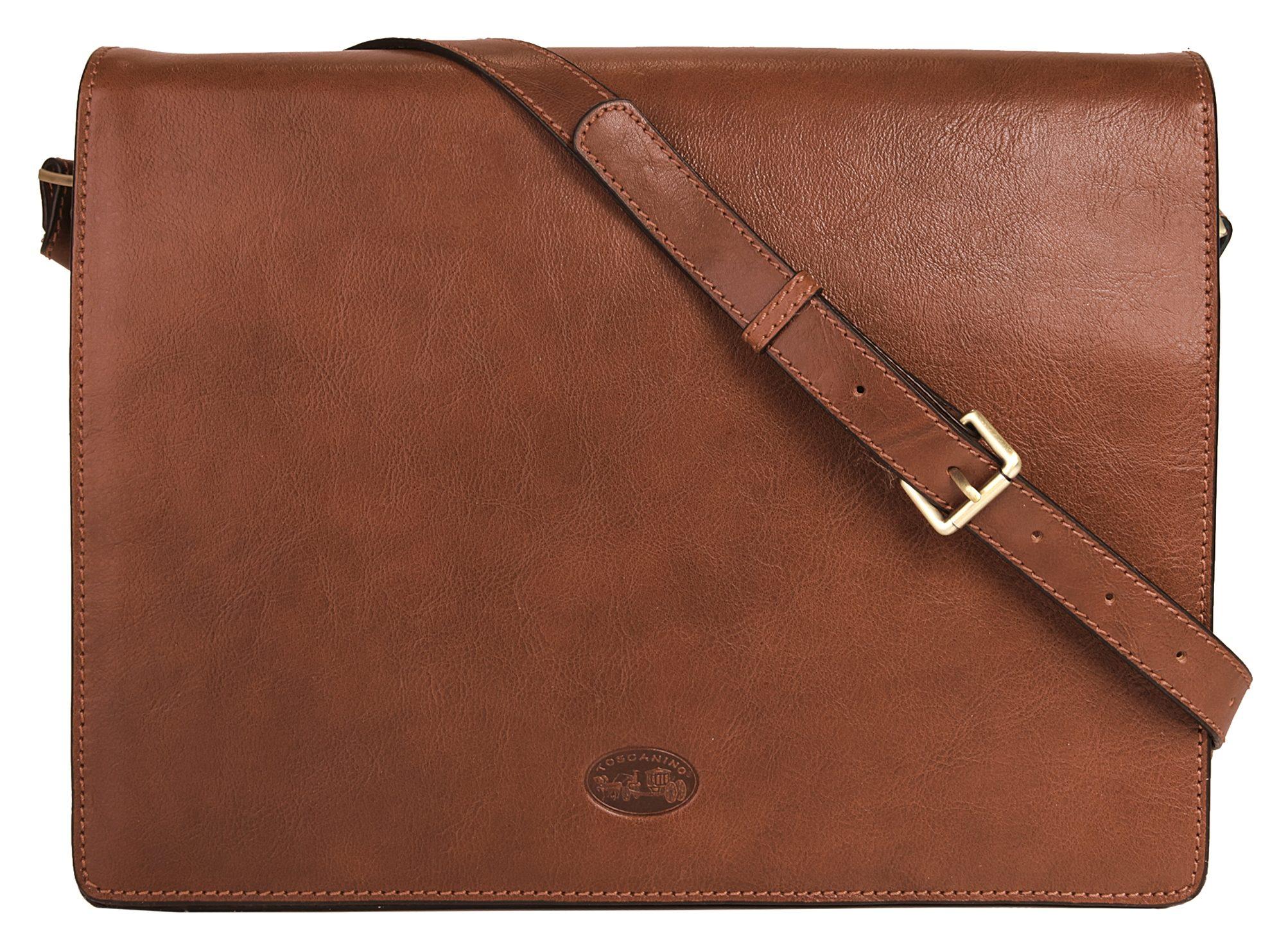 Toscanino Leder Messengerbag