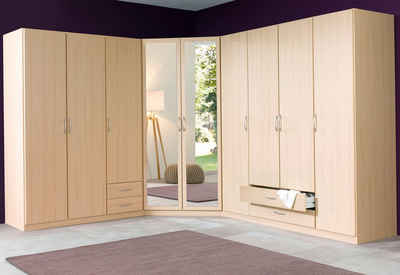 Eckkleiderschrank mit spiegel  Eckkleiderschrank & Eckschrank online kaufen | OTTO