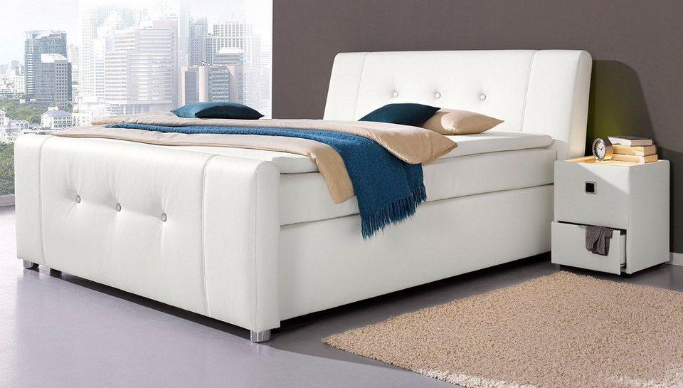 boxspringbett inkl topper online kaufen otto. Black Bedroom Furniture Sets. Home Design Ideas