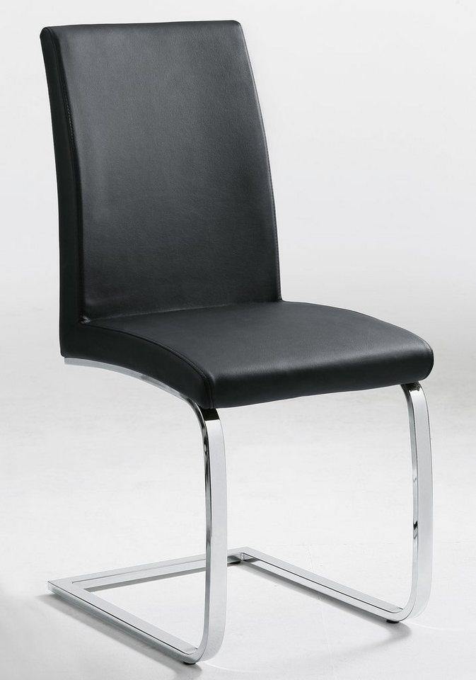 set one by musterring freischwinger so 2160 flachrohr 2er set online kaufen otto. Black Bedroom Furniture Sets. Home Design Ideas