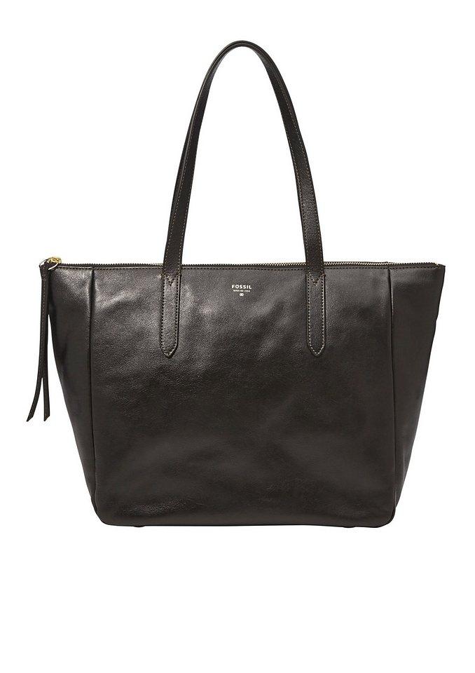 Fossil Shopper »SYDNEY« aus Leder in schwarz
